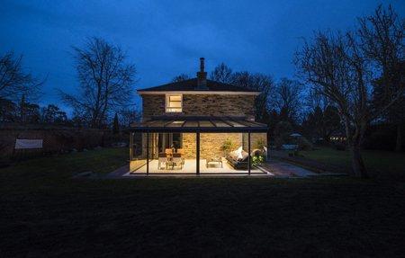 Bespoke glass veranda